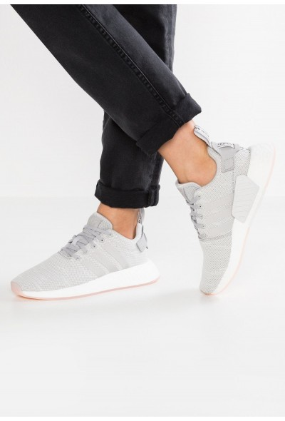 Adidas NMD_R2 - Baskets basses grey two/crystal white pas cher