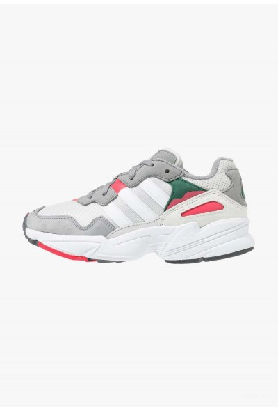 Adidas YUNG-96 - Baskets basses greyone/crystal white/active pink pas cher