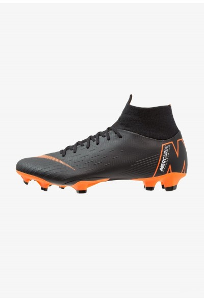 Nike MERCURIAL 6 PRO FG - Chaussures de foot à crampons black/total orange/white liquidation