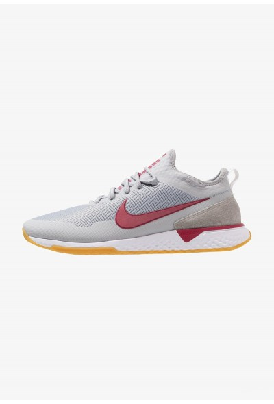 Nike FC - Baskets basses wolf grey/noble red/white/light brown liquidation