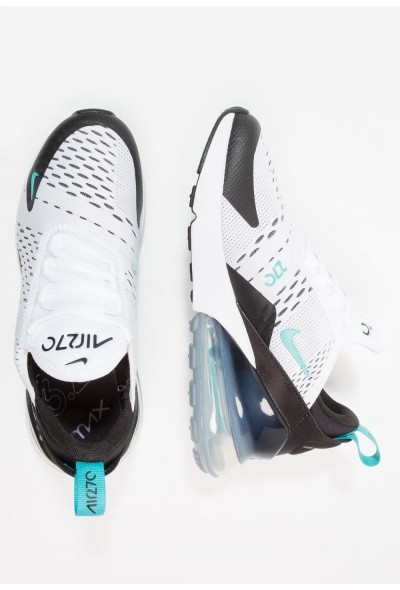 Nike AIR MAX 270 - Baskets basses white/dusty cactus/black liquidation