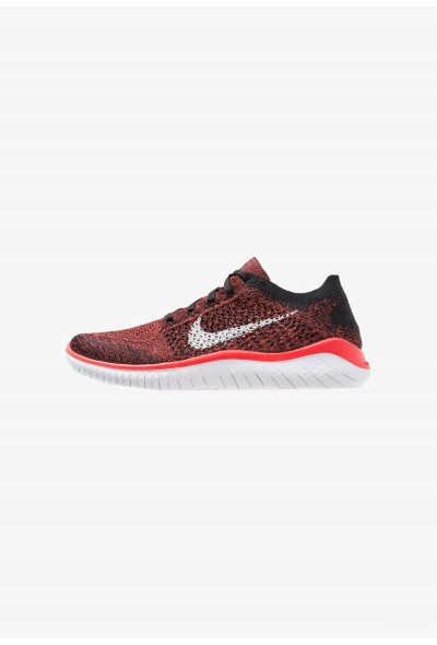 Black Friday 2020 | Nike FREE RUN FLYKNIT 2018 - Chaussures de course neutres bright crimson/white/black liquidation