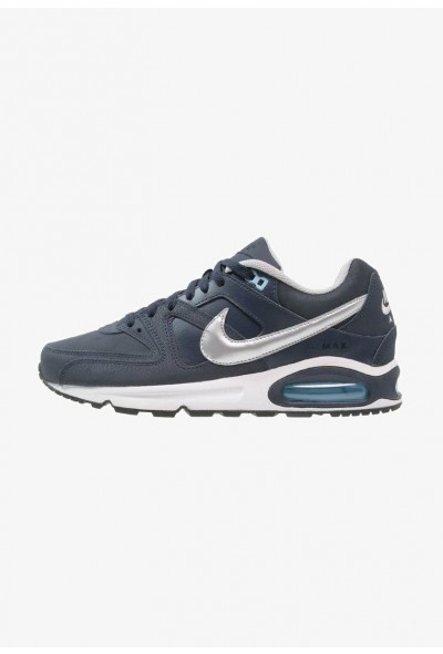 Nike AIR MAX COMMAND - Baskets basses obsidian/metallic silver/bluecap/white/black liquidation