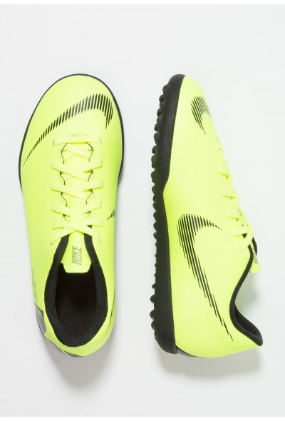 Black Friday 2020 | Nike MERCURIAL VAPORX 12 CLUB TF - Chaussures de foot multicrampons volt/black liquidation