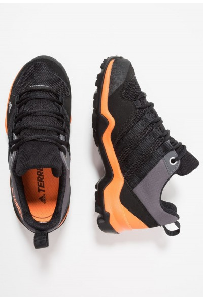 Adidas TERREX AX2R CLIMAPROOF  - Chaussures de marche - core black/hi core black/hi-res orange pas cher