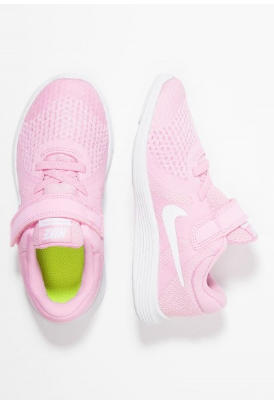 Nike REVOLUTION 4 - Chaussures de running neutres pink rise/white/pink foam/black liquidation