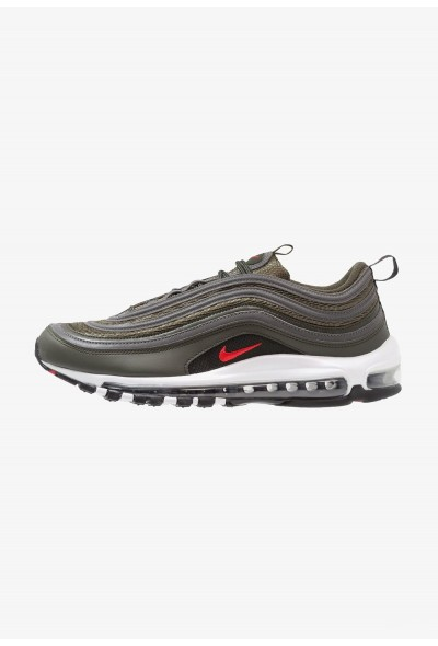 Nike AIR MAX 97 - Baskets basses sequoia/university red/metallic dark grey liquidation