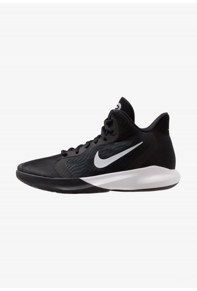 Black Friday 2020 | Nike PRECISION III - Chaussures de basket black/white liquidation