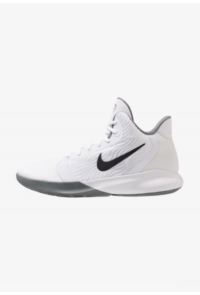 Nike PRECISION III - Chaussures de basket white/black liquidation