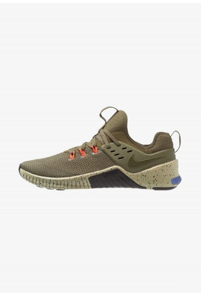 Nike FREE METCON - Chaussures d'entraînement et de fitness olive/neutral olive/black/total crimson/indigo burst liquidation