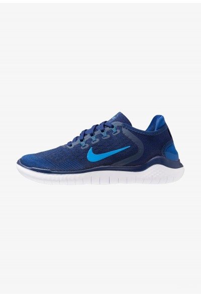Nike FREE RN 2018 - Chaussures de course neutres blue void/photo blue/indigo force/red orbit liquidation