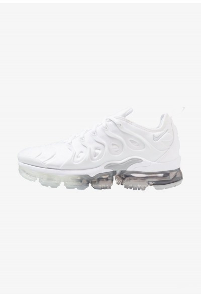 Nike AIR VAPORMAX PLUS - Baskets basses white/pure platinum/wolf grey liquidation