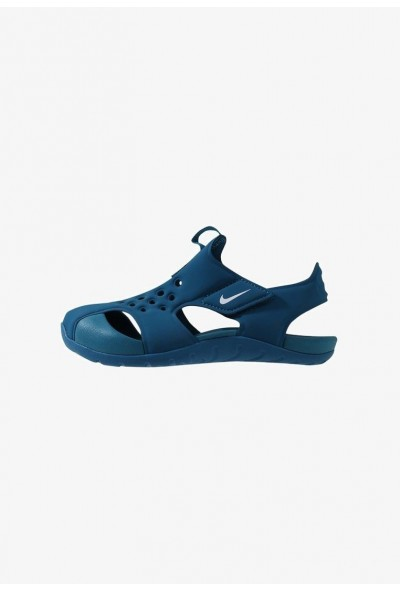 Black Friday 2020 | Nike SUNRAY PROTECT  - Sandales de bain green abyss/white liquidation