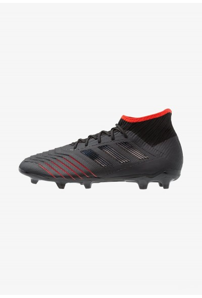 Black Friday 2020 | Adidas PREDATOR 19.2 FG - Chaussures de foot à crampons core black/active red pas cher