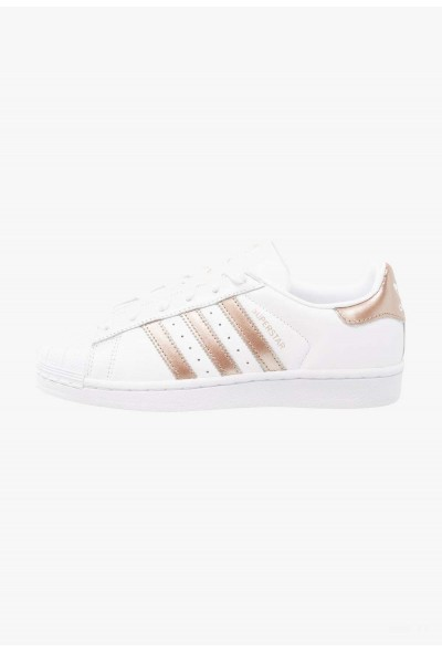 Adidas SUPERSTAR - Baskets basses footwear white/cyber metallic pas cher