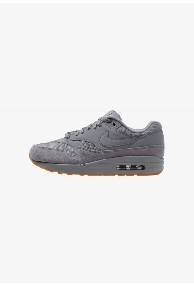 Nike AIR MAX 1 - Baskets basses cool grey/med brown liquidation
