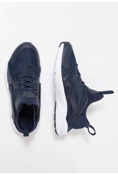 Nike HUARACHE RUN ULTRA (PS) - Baskets basses obsidian/white liquidation