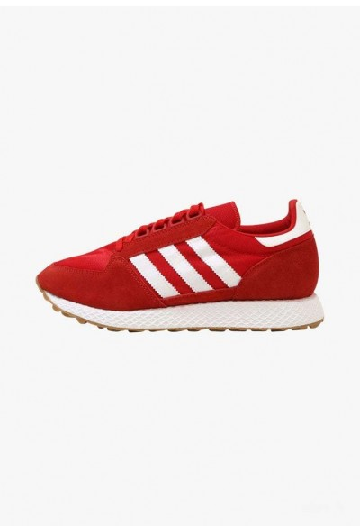 Adidas FOREST GROVE - Baskets basses scarlet/white pas cher