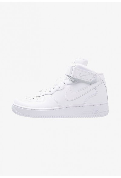 Nike AIR FORCE 1 MID '07 - Baskets montantes white liquidation