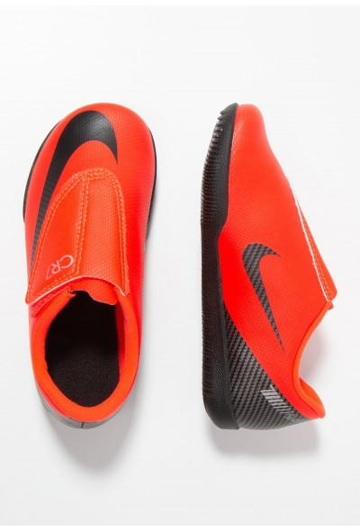 Nike JR VAPORX 12 CLUB CR7  - Chaussures de foot en salle bright crimson/black/chrome liquidation