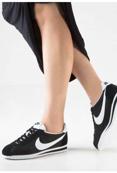 Nike CLASSIC CORTEZ - Baskets basses black/white liquidation