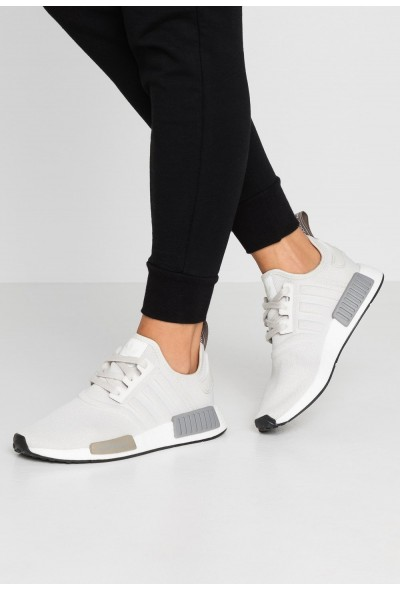 Adidas NMD_R1 - Baskets basses raw white/core black pas cher