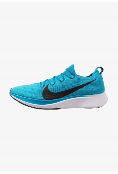 Nike ZOOM FLY FK - Chaussures de running neutres blue orbit/black/white/photo blue liquidation