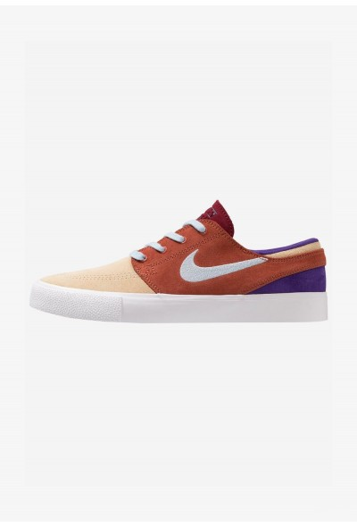 Nike ZOOM JANOSKI - Baskets basses desert ore/light armory blue/dusty peach/team red/court purple/light brown liquidation