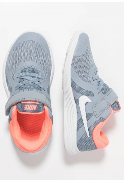 Black Friday 2020 | Nike REVOLUTION 4 - Chaussures de running neutres obsidian mist/white/lava glow/armory blue liquidation