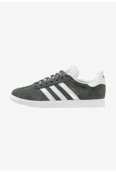 Adidas GAZELLE - Baskets basses legend ivy/crystal white/footwear white pas cher