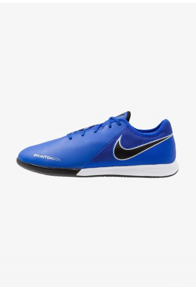 Black Friday 2020 | Nike PHANTOM OBRAX 3 GATO IC - Chaussures de foot en salle racer blue/black/metallic silver/volt/white liquidation