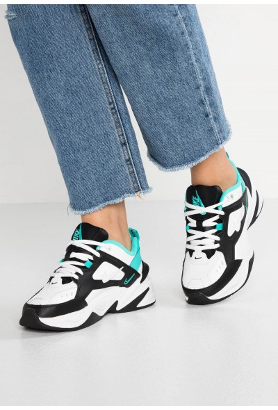 Black Friday 2020 | Nike M2K TEKNO - Baskets basses summit white/black/hyper jade/spruce aura liquidation