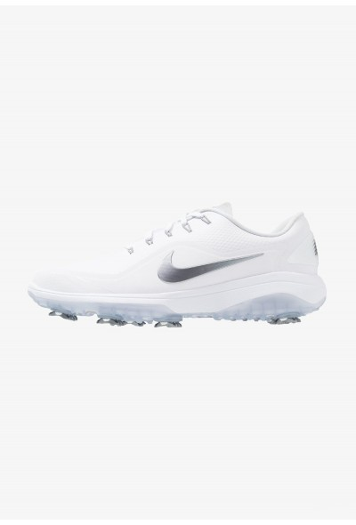 Black Friday 2020 | Nike REACT VAPOR  - Chaussures de golf white/metallic cool grey/black liquidation