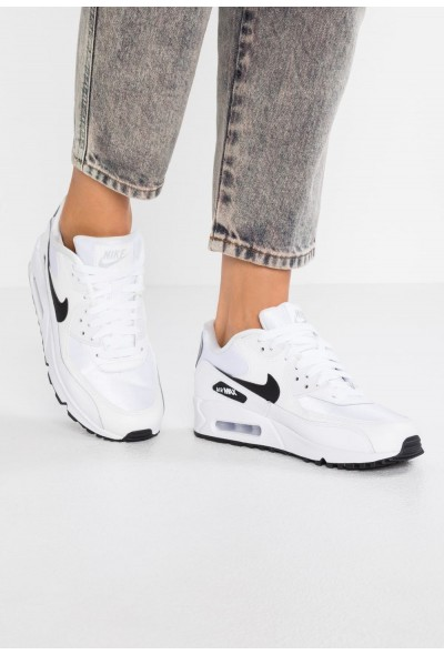 Nike AIR MAX - Baskets basses white/black/reflect silver liquidation