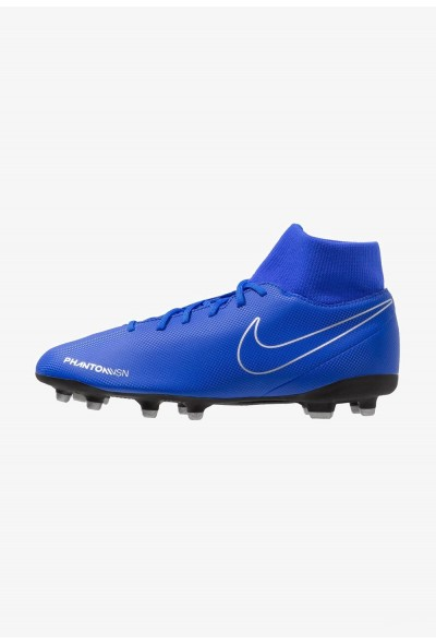 Black Friday 2020 | Nike PHANTOM OBRA 3 CLUB DF MG - Chaussures de foot à crampons racer blue/black/metallic silver/volt liquidation