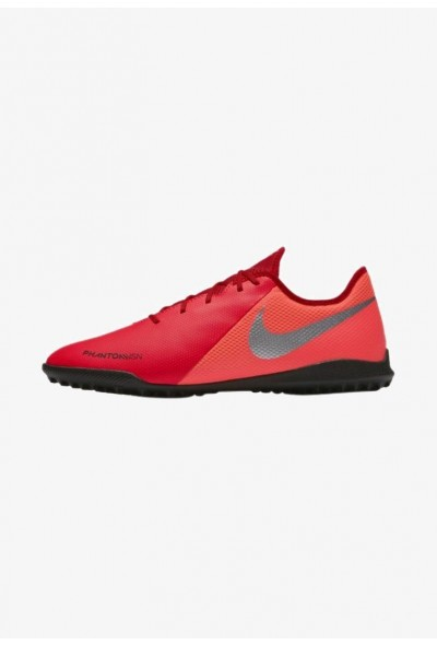 Nike PHANTOM  VSN ACADEMY TF - Chaussures de foot multicrampons bright crimson/black/metallic silver liquidation