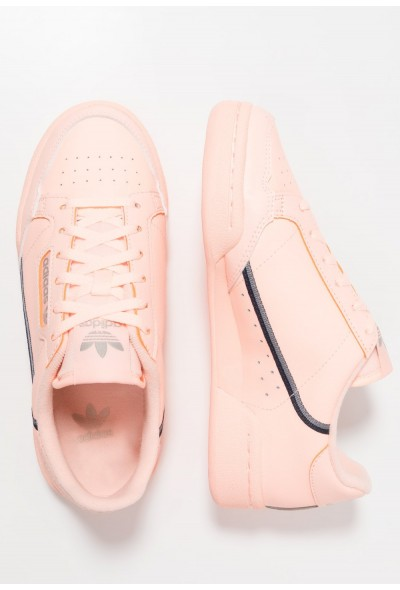 Adidas CONTINENTAL 80 - Baskets basses clear orange/light brown/ecru tint pas cher