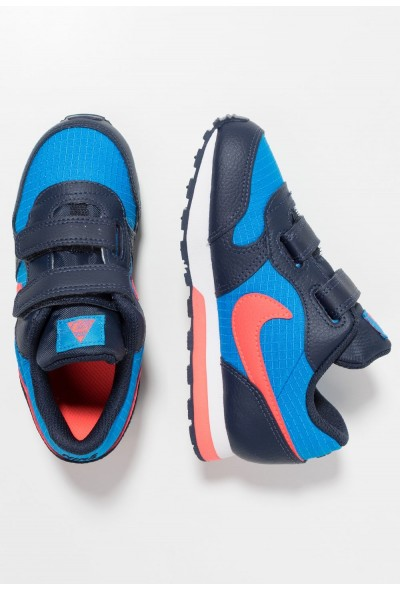 Nike MD RUNNER 2  - Chaussures premiers pas photo blue/bright crimson/obsidian/white liquidation