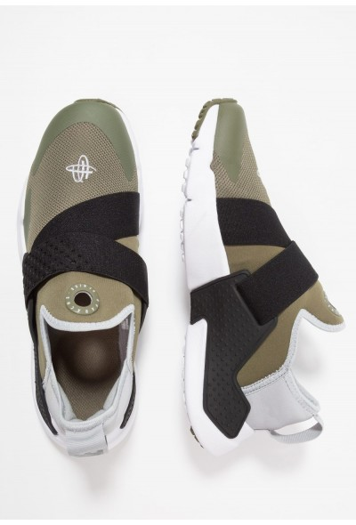 Nike HUARACHE EXTREME - Mocassins medium olive/wolf grey/black/white liquidation
