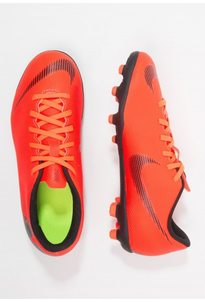 Nike MERCURIAL VAPOR 12 CLUB MG - Chaussures de foot à crampons total orange/white/volt/black liquidation