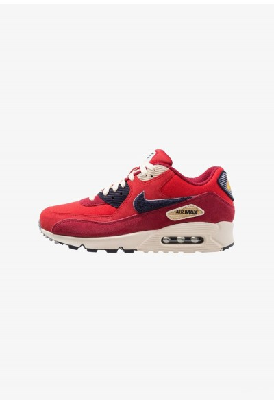 Black Friday 2020 | Nike AIR MAX 90 PREMIUM SE - Baskets basses universal red/provence purple/blackened blue/red crush/wheat gold/light cream liquidation