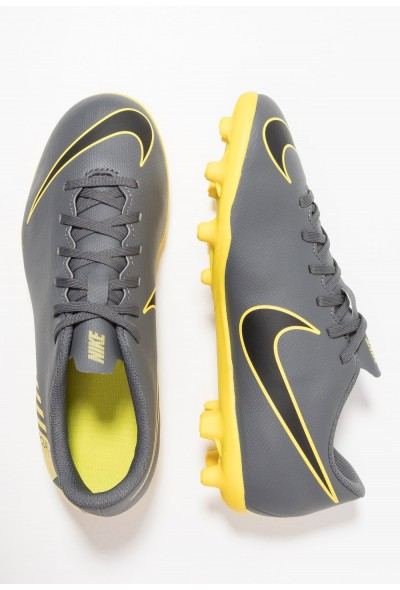 Black Friday 2020 | Nike MERCURIAL VAPOR 12 CLUB MG - Chaussures de foot à crampons dark grey/black/opti yellow liquidation