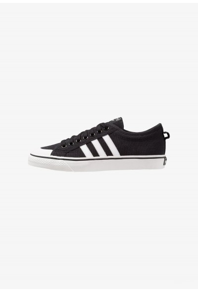 Adidas NIZZA - Baskets basses core black/footwear white/crystal white pas cher