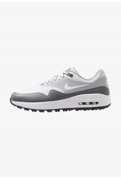 Black Friday 2020 | Nike AIR MAX 1 - Chaussures de golf pure platinum/white/wolf grey/cool grey/anthracite liquidation