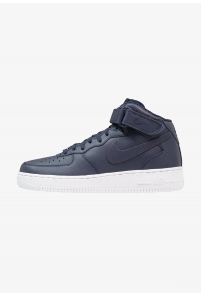 Black Friday 2020 | Nike AIR FORCE 1 MID '07 - Baskets montantes obsidian/white liquidation