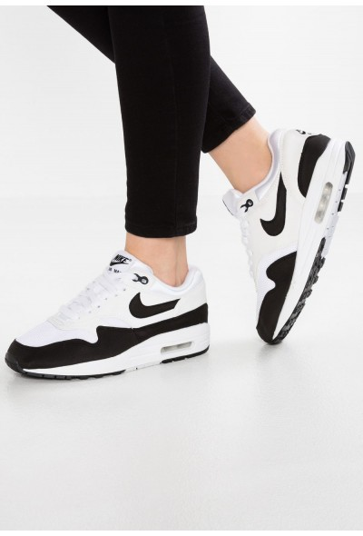 Nike AIR MAX 1 - Baskets basses white/black liquidation