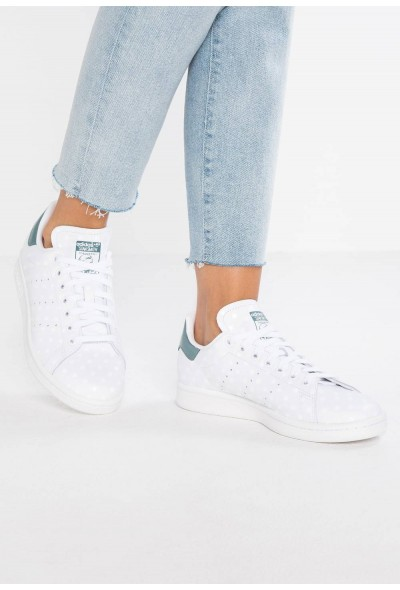 Adidas STAN SMITH - Baskets basses footwear white/raw green pas cher
