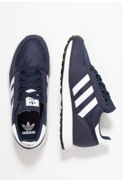 Adidas FOREST GROVE  - Baskets basses collegiate navy/footwear white/core black pas cher