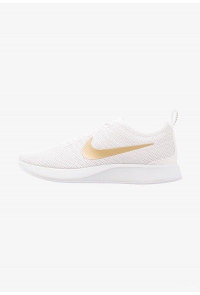 Black Friday 2020 | Nike DUALTONE RACER SE - Baskets basses white/metallic gold/vast grey liquidation