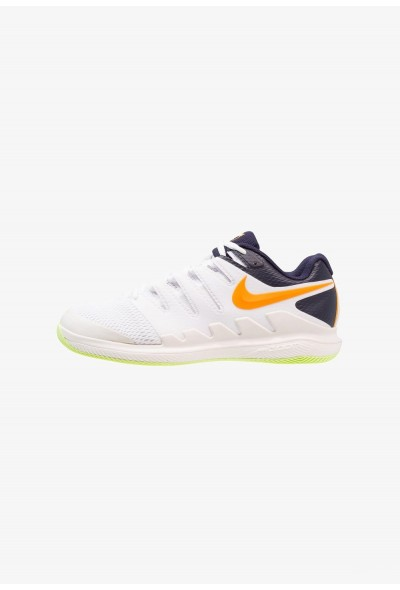 Nike AIR ZOOM VAPOR X HC - Baskets tout terrain phantom/orange peel/blackened blue/white/volt glow liquidation